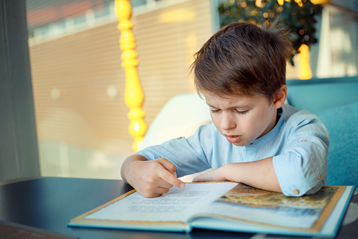 Child struggling in school