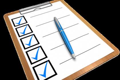 Behavioral Checklist